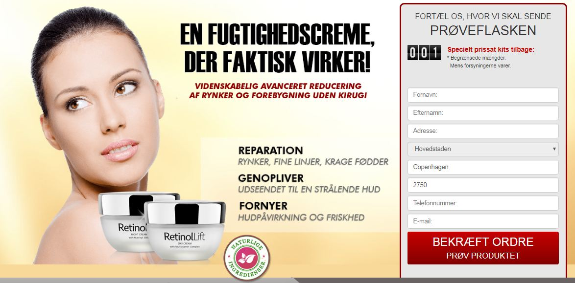 retinol lift dk