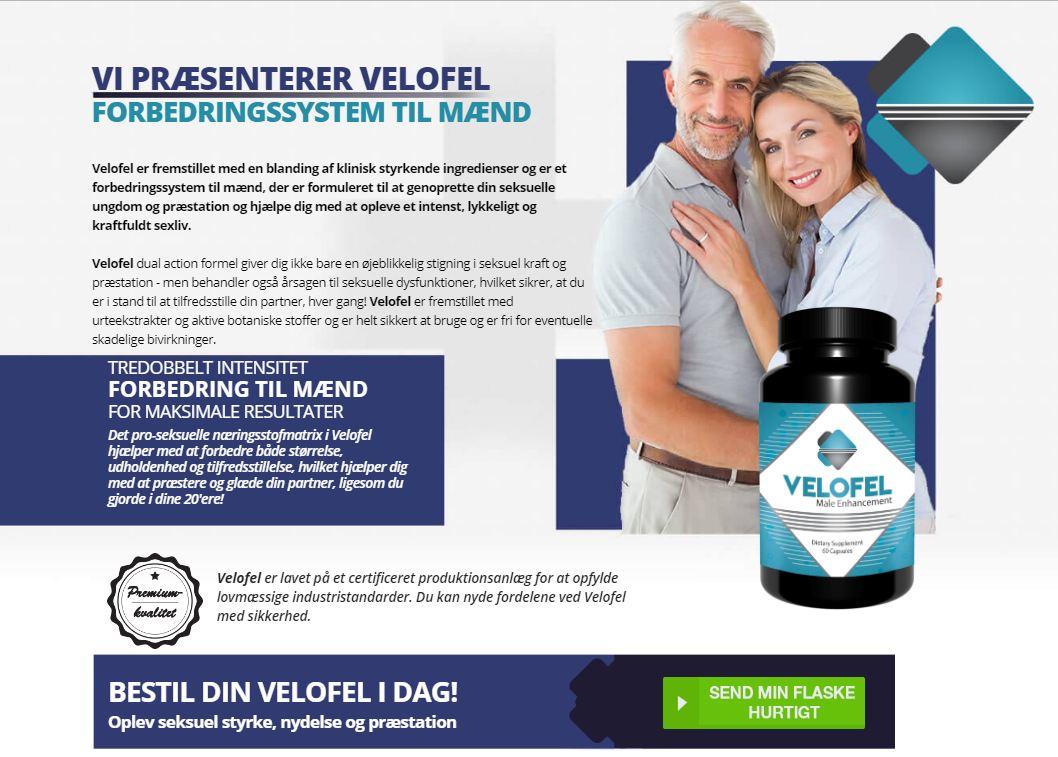 Velofel Danmark (DK-Pris), Piller Anmeldelser, Bivirkninger & Købe i Dansk